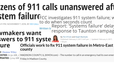 You Must Exercise 911 Systems Failure