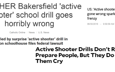 """""""My Boss Wants to do a Full-Scale Active Shooter Exercise"""""""