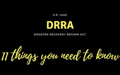 11 Things You Need to Know About the Disaster Recovery Reform Act